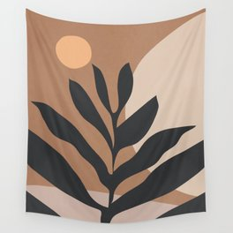 Tropical Leaf- Abstract Art 2 Wall Tapestry