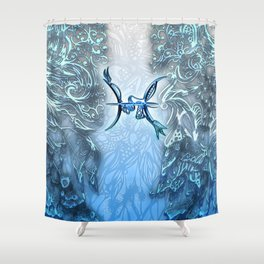 Pisces the Fish Shower Curtain
