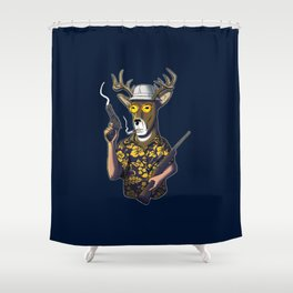 Deer Hunter Shower Curtain