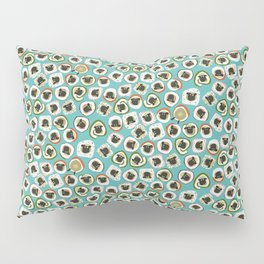 sheep sushi blue Pillow Sham