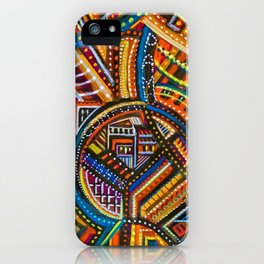 Another Light to Coney Island, Brooklyn NYC landscape by Joseph Stella iPhone Case