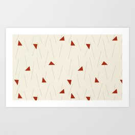 Minimal Winter Art Print