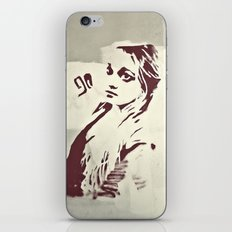 90's girl iPhone & iPod Skin