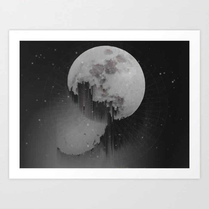 Sacred Moon Art Print