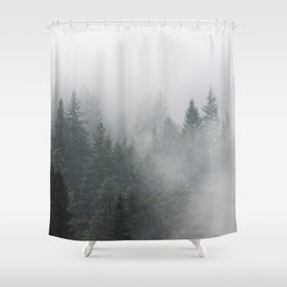 Long Days Ahead - Nature Photography Shower Curtain