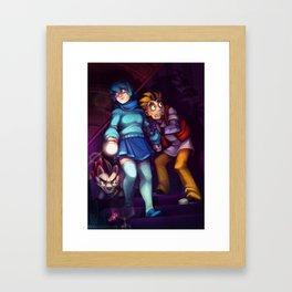 The MSA Gang - Haunted Framed Art Print