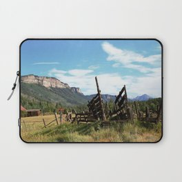 Time Weary Corral at the Haviland Lake Turnoff Laptop Sleeve
