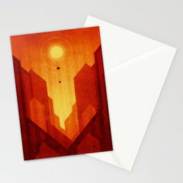 Mars - Valles Marineris Stationery Cards
