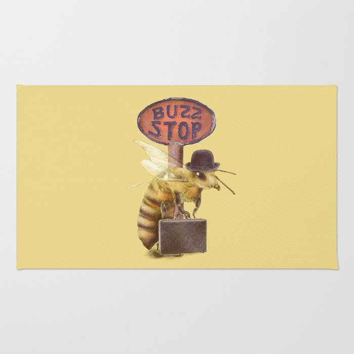 Worker Bee (colour option) Rug