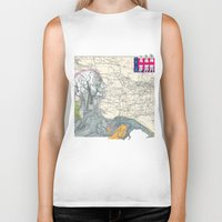 fig Biker Tanks featuring Fig. 407 by judy lee