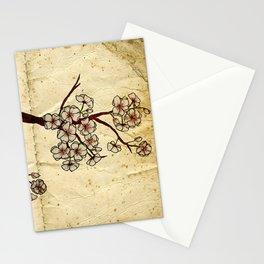 Old book Sakura Stationery Cards