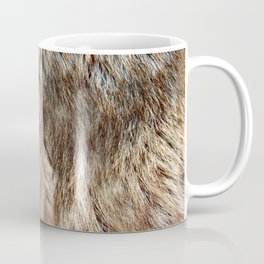Alaska Faux Fur Coffee Mug