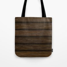 Log Cabin Tote Bag