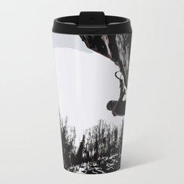 Climbers Silhouette #2 Travel Mug