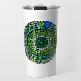 old mosaic Travel Mug