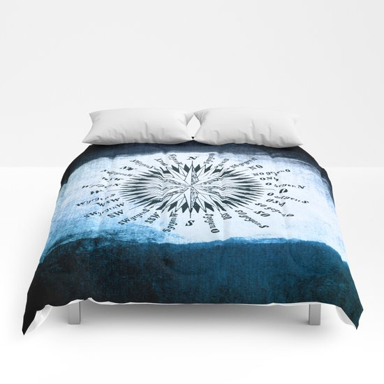 Windrose blue version Comforters