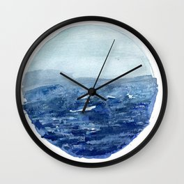 Around the Ocean Wall Clock