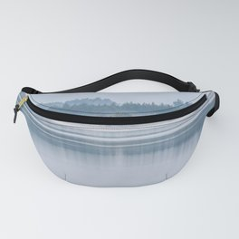 Morning begins with mist Fanny Pack