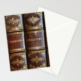 Shakespeare books Stationery Cards