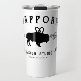 rapport design logo Travel Mug