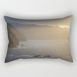 Sunset at Madeira Rectangular Pillow
