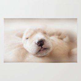Golden Retriever Puppy Rug