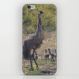 Dad and the Kids iPhone Skin