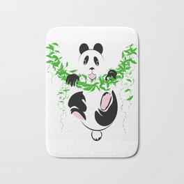 THE PANDA is a symbol of gentleness and strength. it is an auspicious symbol of peace, harmony Bath Mat
