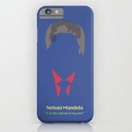 Mandela quote iPhone Case