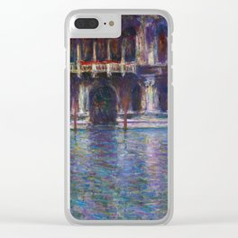 Monet Clear iPhone Case