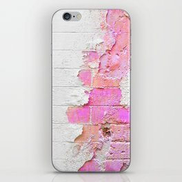 WallFuchsiaTexture iPhone Skin