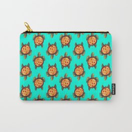 pizza turtle pattern Carry-All Pouch