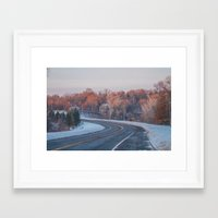 minnesota Framed Art Prints featuring Minnesota by Kiersten Marie Photography