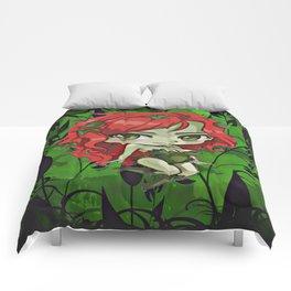 Ivy The Queen Of Green Comforters