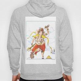 Ganesha Dancing with Musakraj Hoody