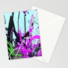 the guardian asleep, a meteor struck the garden room, dabloon collection orchid Stationery Cards