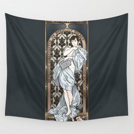 A Scandal in Belgravia - Mucha Style Wall Tapestry
