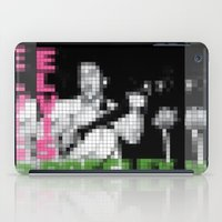elvis presley iPad Cases featuring Elvis Presley - Elvis Presley - Pixel Cover by Stuff.