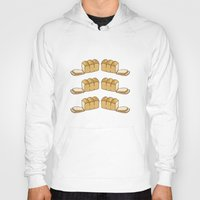 bread Hoodies featuring bread by Jaeyun Woo