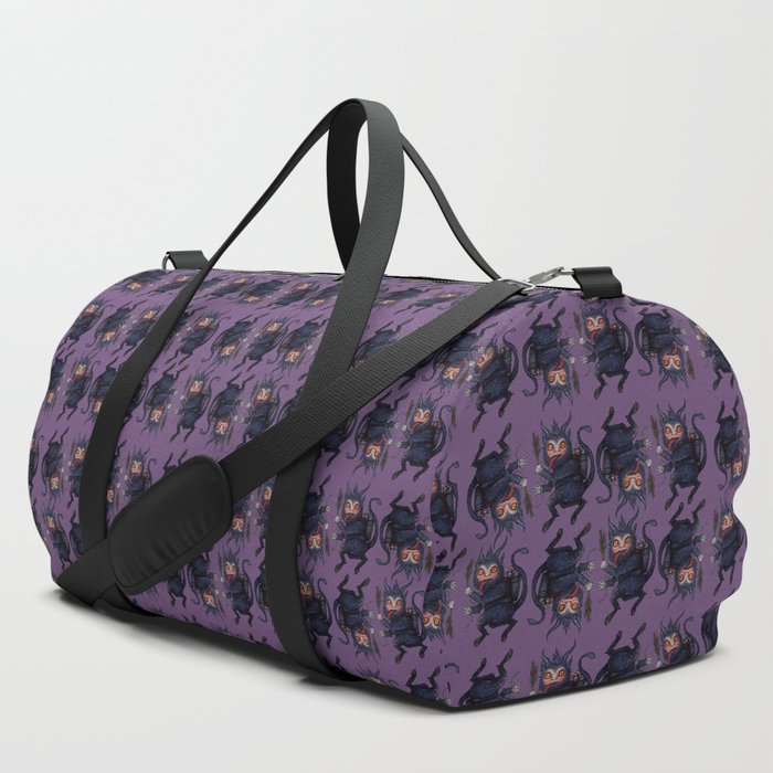 Holiday_Krampus_Duffle_Bag_by_Andrew_Thornton__SET_OF_3