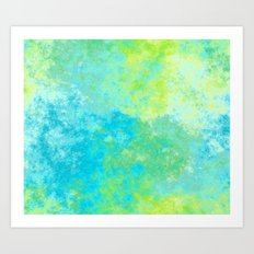 Sun and Sea Art Print