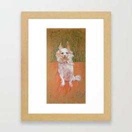 """Henri de Toulouse-Lautrec """"Follette"""" Framed Art Print"""