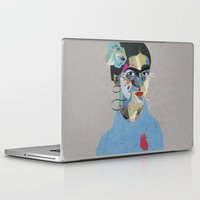 frida Laptop & iPad Skins featuring Frida by Zaneta Antosik