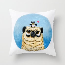 As long as you´re here with me Throw Pillow