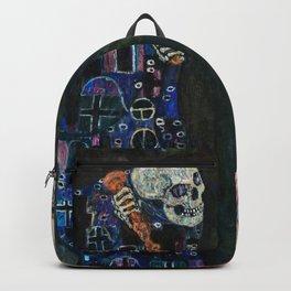 Gustav Klimt - Death And Life Backpack