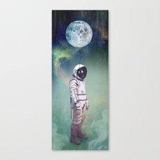Moon Balloon Canvas Print