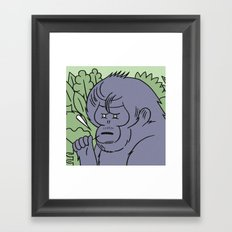 Andy_foster91 special edition ape print  Framed Art Print