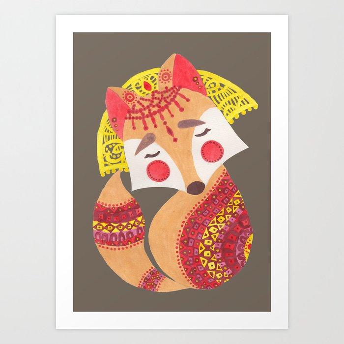 The Little Wolf Art Print