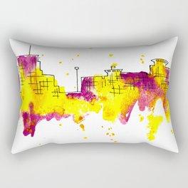 Going Downtown: Kalamazoo Rectangular Pillow
