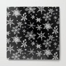 Snow Flakes 07 Metal Print